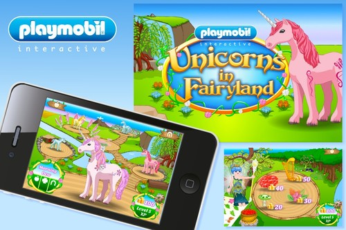 PLAYMOBIL Unicorns in Fairyland game