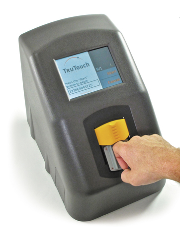 TruTouch FIngertip Alcohol Scanner