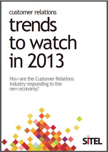 Sitel UK latest Customer Trends report