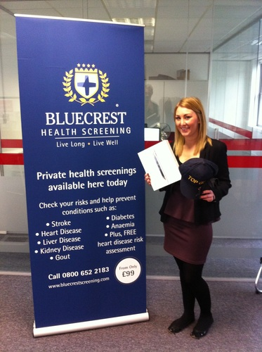 Ventrica has Bluecrest Health Screening