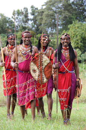 Massai Warrior Dance Troop from Kenya