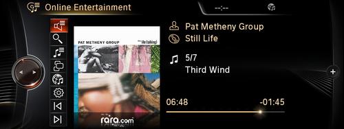 rara.com app for BMW ConnectedDrive