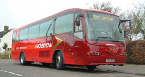 Wi-Fi enabled Red Arrow bus