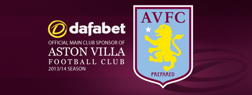 Aston Villa and Dafabet Partnership