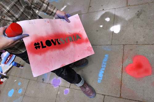 Oxfam launch Love Syria campaign
