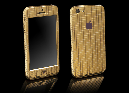 £48,000 Solid Gold Superstar iPhone 5