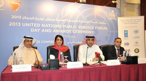 UNPSD2013 Press Conference