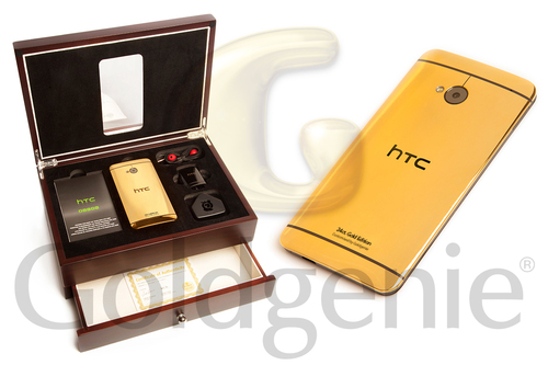 24 CT Gold HTC One