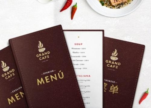 Multilingual menus