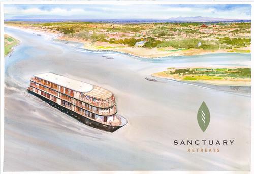 Myanmar River Cruise Ship Ananda