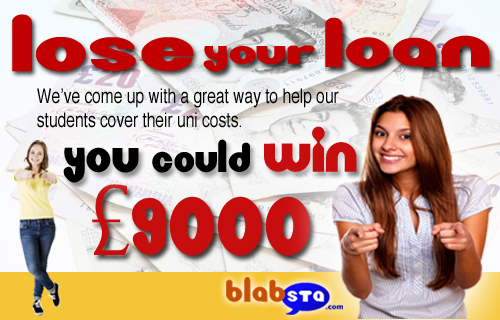 Students win £9000 at Loseyourloan.com
