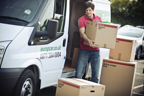 20% off Van hire from Europcar 1