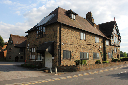 The new office at Herkomer House, Bushey