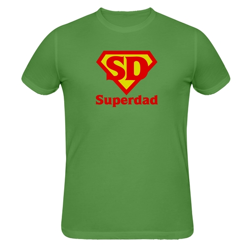 Superdad distressed t-shirt