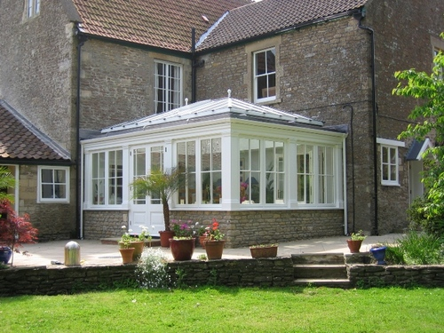 Traditional timber orangery from Anglian