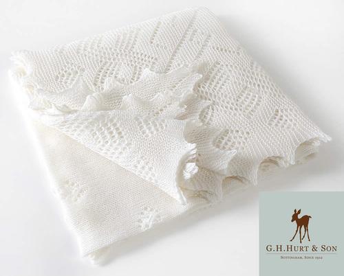 Super-fine Merino Wool Baby Shawl
