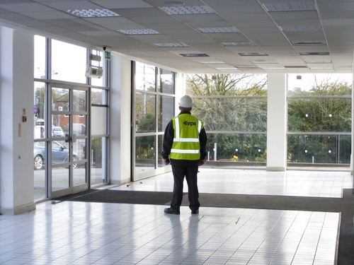 VPS look after empty retail units
