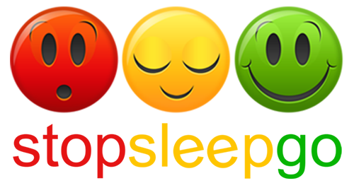 Meet the Guys StopSleepGo Logo