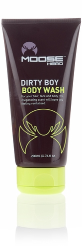 Moosehead Dirty Boy Body Wash