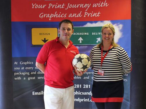 Caroline Dalton and G&P MD, Martin Kells