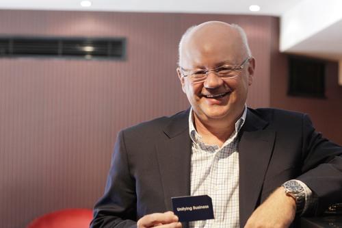 m-hance CEO, Mark Thompson