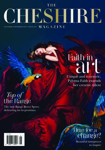The Cheshire Magazine cover