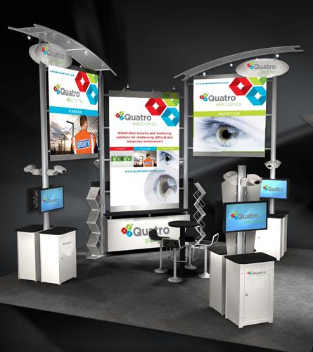 Quatro Electronics ASIS 2013 Booth 3633