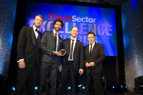 TheFrameworks' David & James with award
