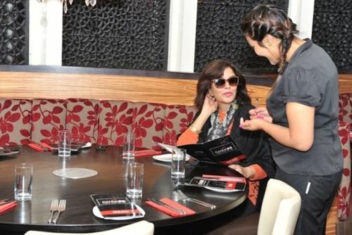 Zeenat Aman at Chak 89