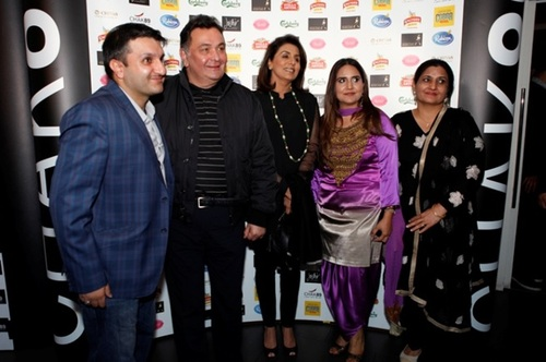 Chak 89 owners with Rishi & Neetu Kapoor