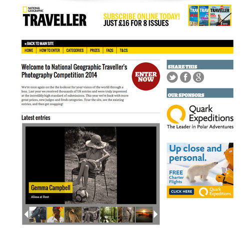 Travel Photography Competition 2014