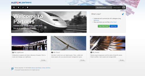 Alstom Partners Screen Shot