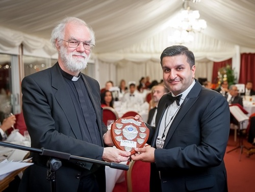 Frank Khalid & Archbishop of Canterbury