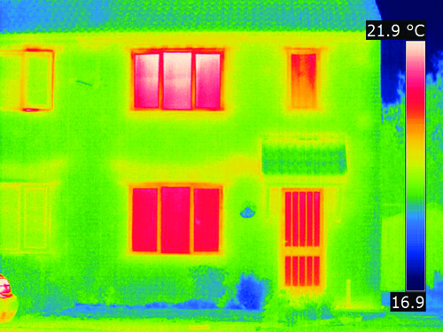 30% of energy lost via windows and doors