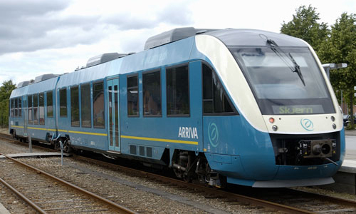 Arriva WiFi-enabled train in Denmark
