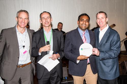 Partners Alfresco & Zaizi at the awards