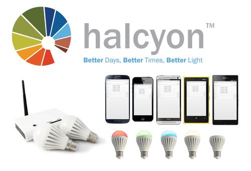 Halcyon smartbulb system by PhotonStar