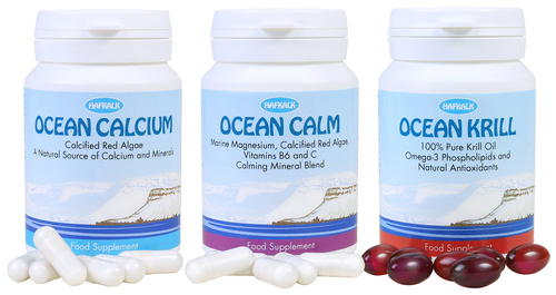 Natural supplements from the sea