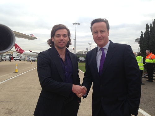 Recite CEO Ross Linnett meets the PM