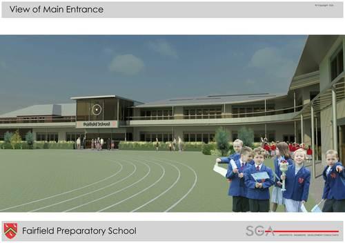Fairfield Prep School Graphic