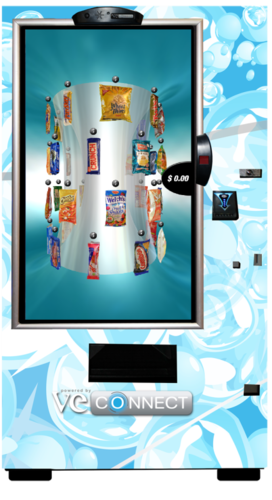 Innovative VE CONNECT vending machine