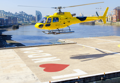 The London Helicopter Valentine