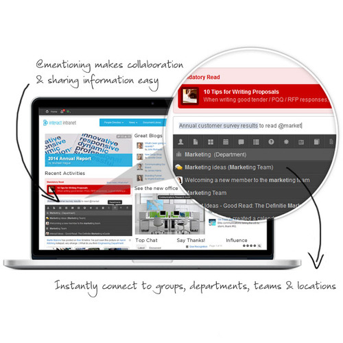 Collaborate & share information easily