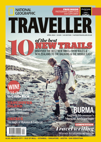 National Geographic Traveller - April