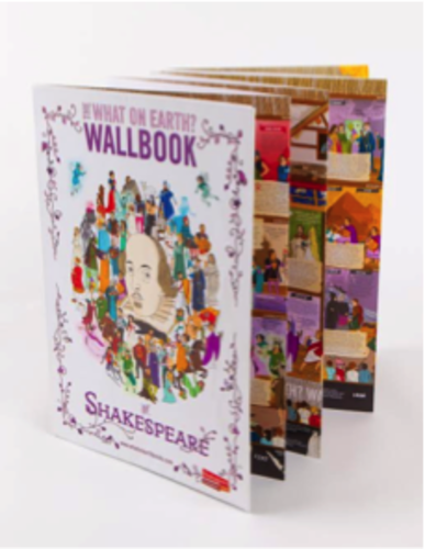 Front cover - Shakespeare Wallbook