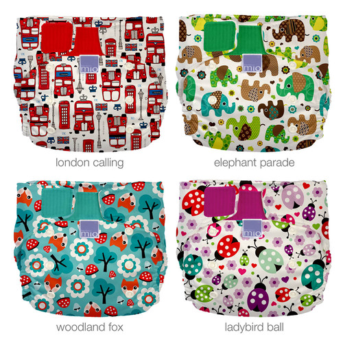new miosolo all-in-one nappy prints