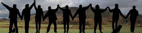 Hands around the Wrekin 2014