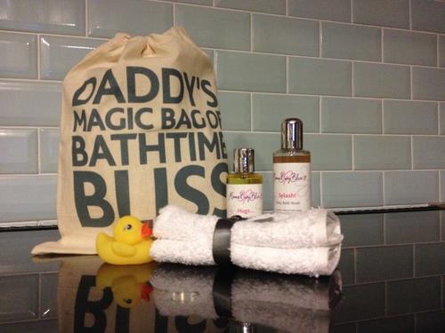 Daddy's Magic Bag of Bathtime Bliss