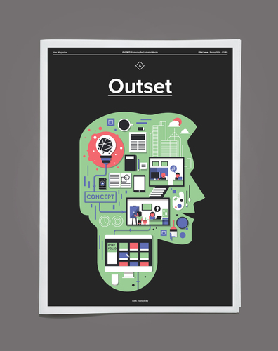 Hue Magazine Pilot Issue - Outset Cover