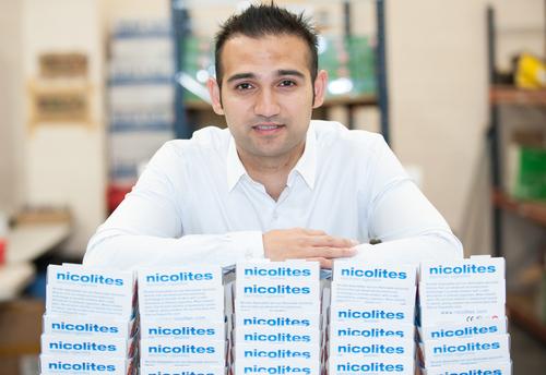Managing director Nikhil Nathwani.
